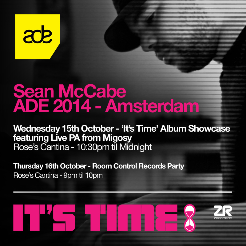 Sean McCabe at ADE